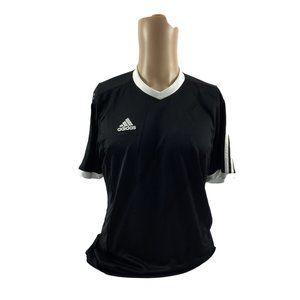Men's Adidas Athletic Black & White T-Shirt YL